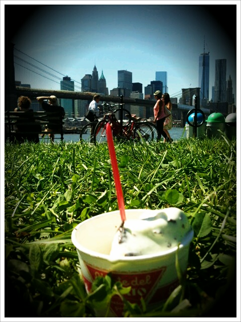 Ice Cream in DUMBO