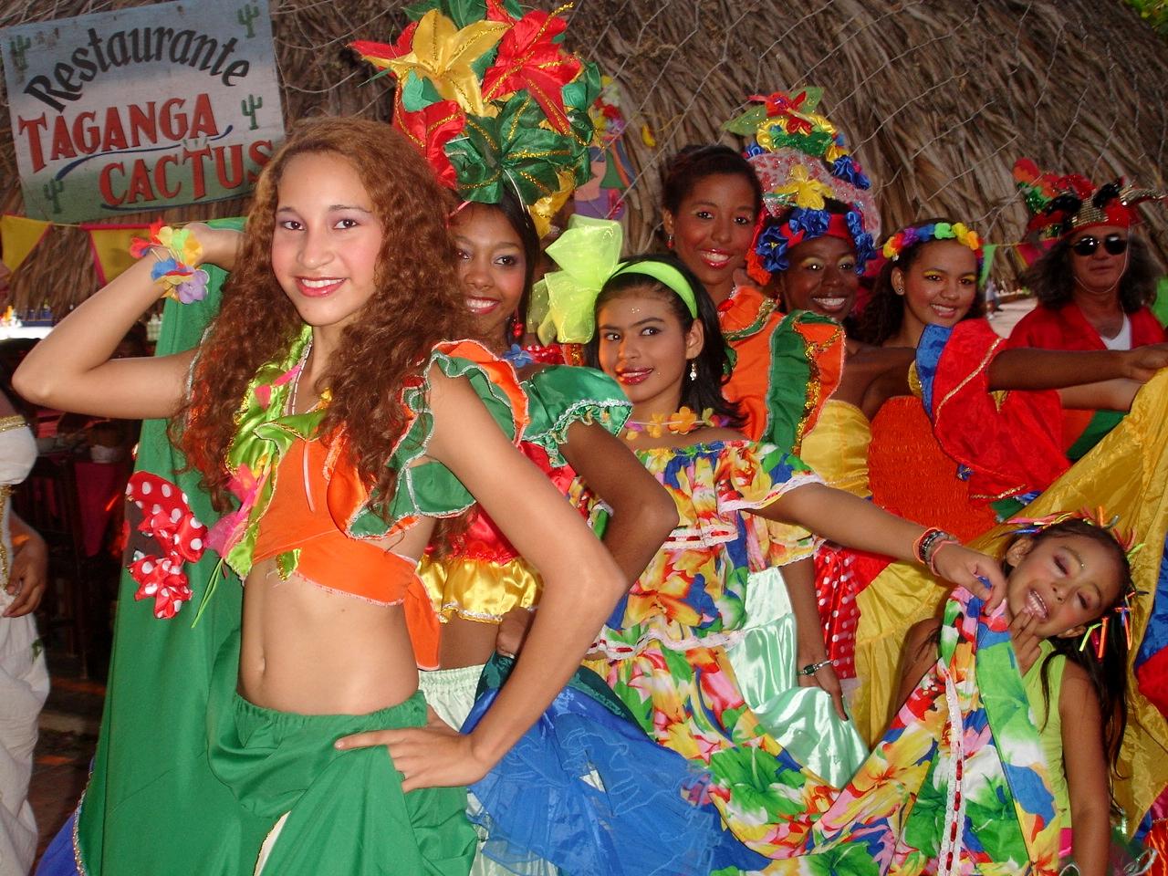 Carnaval en Taganga
