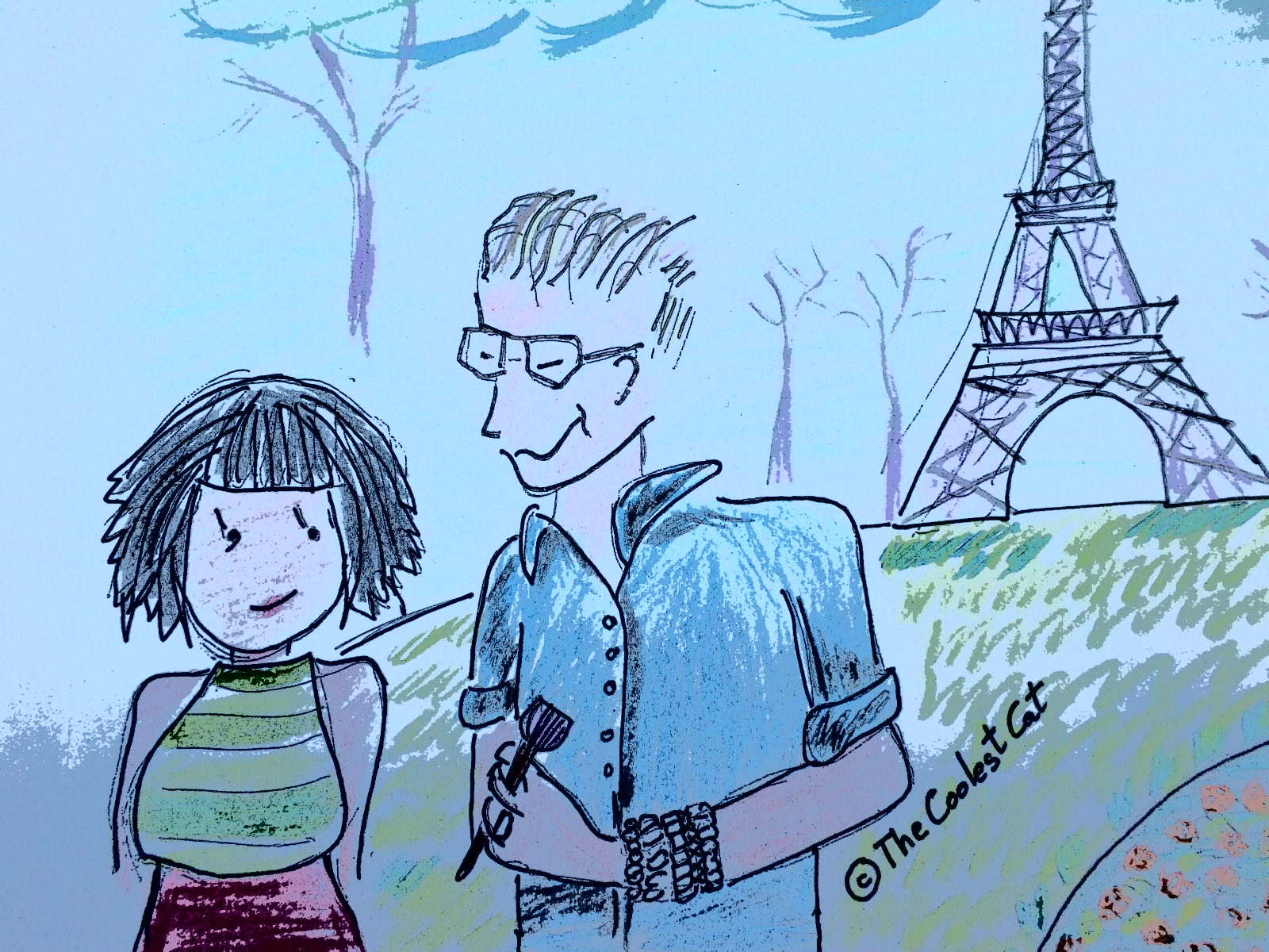 El día que le pedí a Eduardo Ferreira de Bobbi Brown que viniera conmigo a París...